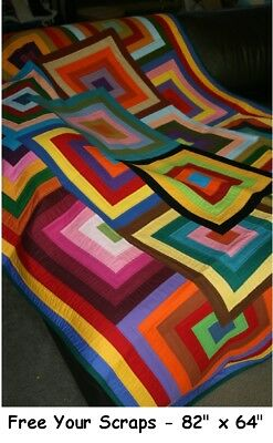 VARIOUS HANDMADE QUILTS by QUILT-ADDICTS #3***
