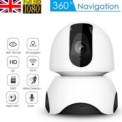 1080P HD Wireless Wifi IP Video Camera Home Monitor Security Webcam Night Vision