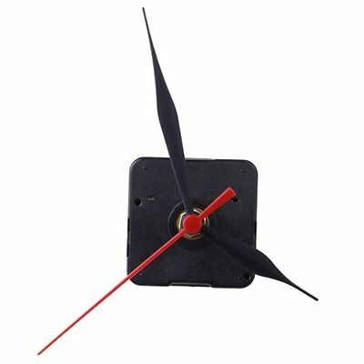 DIY Quartz Clock Repair Accessories Clock Core Hour/Red Second Pointer Supply UK