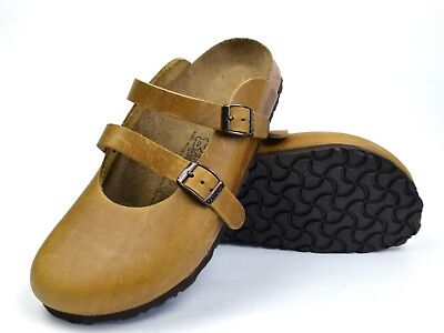 91e400fa21b3 Birki s Birkenstock Clogs Dorian Leather 38 US 7 UK 5 Birkis Sandals Slip  No Use