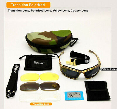 Tactical Daisy X7 Glasses Army Military Sunglasses Goggles Polarized Lens  NEW d4cb7f86bd71
