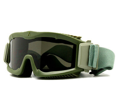 BALLISTIC Glasses Military Army 3 LENS Goggles Tactical EYESHIELD Sunglasses New