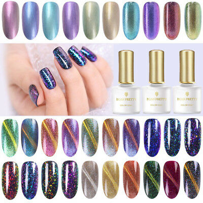 BORN PRETTY 6ml Esmaltes de Uñas UV LED Gel Polish Base Top Coat Nail Art Varnis