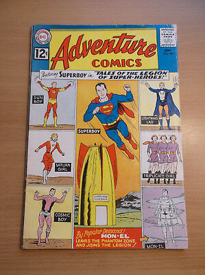 Dc: Adventure Comics #300, Mon-El App., Tales Of The Legion Begins, Key, 1962!!!