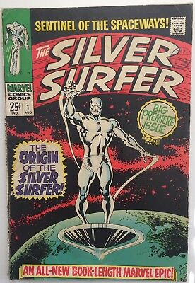 Silver Surfer #1 (1968). Marvel. VG+