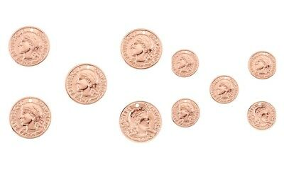 lady-muck1 47mm /& 72mm DQ ROSE GOLD Large Feather Pendants Jewellery Making