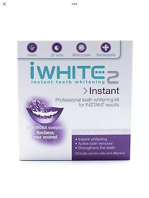 iWhite Instant 2 Teeth Whitening- Professional Kit For Instant Results