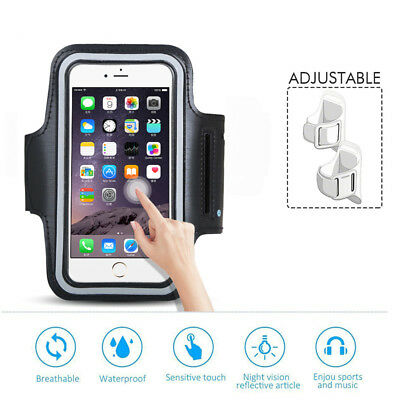 Apple Gym Running Jogging Sports Armband Holder For iPhone XS MAX XR 8 7 6+ SE 5