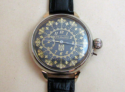HENRY MOSER & Cie 1920-1925 years Swiss Vintage Mechanical Wristwatch Servised