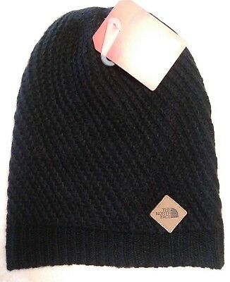 The North Face Women's Hudson Beanie Winter Hat Black One Size NWT