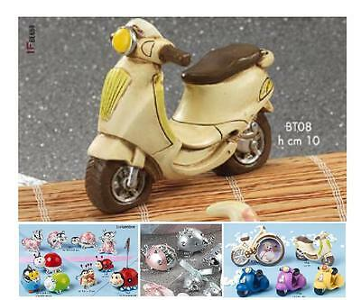 FAVOURS PACKED VESPA VESPETTA Cm.10 COMMUNION and confirmation resin BT08