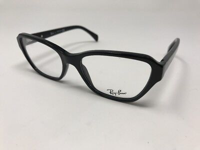 cf634205af NEW Authentic Ray Ban RB 5341 2000 Shiny Black RX Eyeglasses 53mm WOMENS  Z186