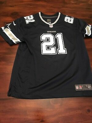 newest 3376b a92ed NIKE ON FIELD Ezekiel Elliott Jersey Youth Size XL EUC Dallas Cowboys Shirt