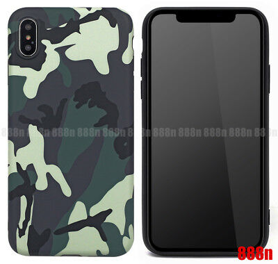 Camo Camouflage material Army ape Phone Case For iPhone XS Max XR X 7 8 Plus 6