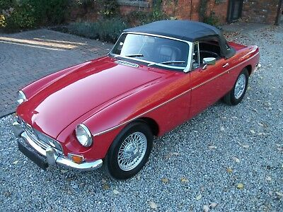 MGB Roadster, 1963, Pull Handle, Heritage Certificate, Wire Wheels, Matching No