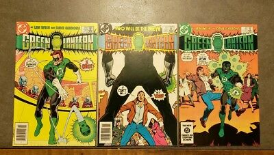 Green Lantern 181, 182, and 183 First App. John Stewart by DC Comics