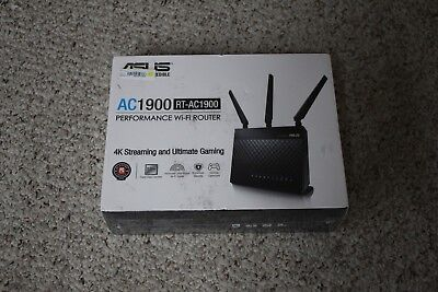 New ASUS RTAC1900 DualBand WiFi Gigabit Router Sealed Free
