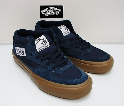 00c619a9a3 VANS MEN S HALF Cab Pro Shoes Black Pewter Gum Men s Size 7.5 ...