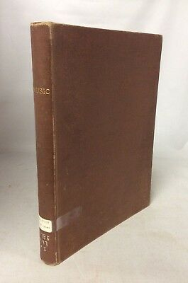 RARE 1840s - 1860s Antique Sheet Music Book Collection Songs 1800s
