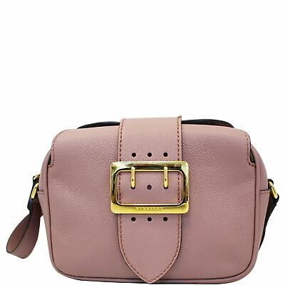 a622a8d23dee Burberry crossbody Prorsum Square Buckle Suede Leather
