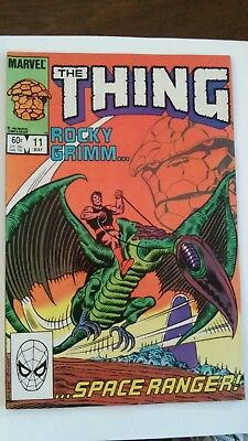 The Thing #11 Rocky Grimm Space Ranger Secret Wars Marvel 1984 fn P&P Discounts