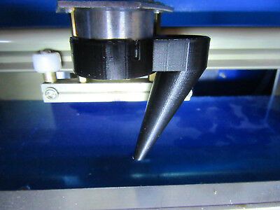 K40 Laser Cutter Air Assist Nozzle (various types and colours) for 40W CO2