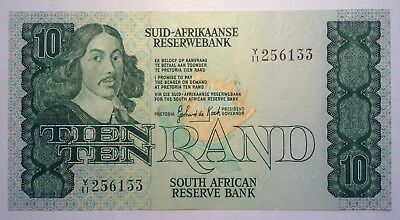 BRT 1985 South Africa 10 Rand Note UNC