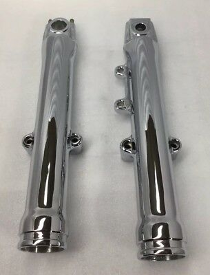Front Fork 41mm Black Neoprene Dust Boots for Harley 1980-05 CLEARENCEwas$22+S//H