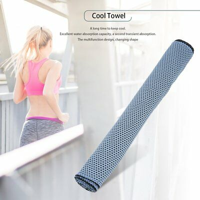 Cold Towel Summer Sports Ice Cooling Towel Hypothermia Cool Towel 90*30CM BY