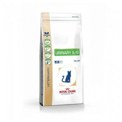 Croquettes Veterinary Diet Urinary S/O pour Chat - Royal Canin - 9Kg