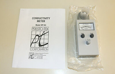 Newport Presto-Tek Analog Water Conductivity Tester/Meter - Model DP-03