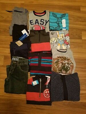 NWT Toddler Boys' Clothes Lot Fall/Winter ~SIZE 3T ~Brand Names L/S shirts Pants