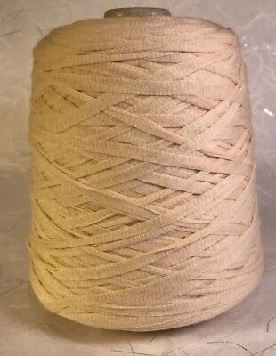 Luvly Bulk Yarn, Un-Dyed, Cotton, Natural Bulky Cone, 800+ Yards