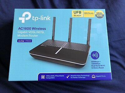 TP-LINK AC1600 Wireless Modem Router - 3 Months Old.