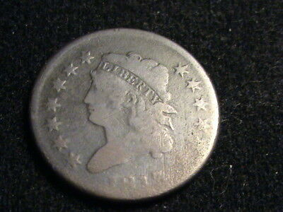 1813 Large Cent, tough early date, weak date, full liberty   ZW10  Z36