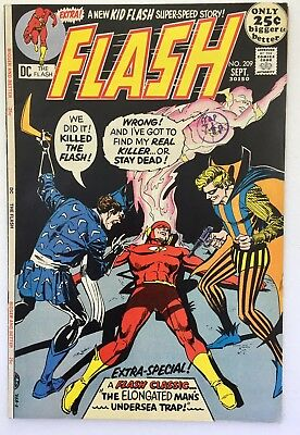 The Flash #209 September 1971. DC. Fine/6.0