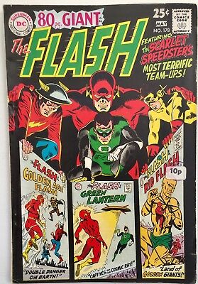 FLASH #178 (1968) 'The Scarlet Speedsters Most Terrific Team-Ups'. 5.0. DC.
