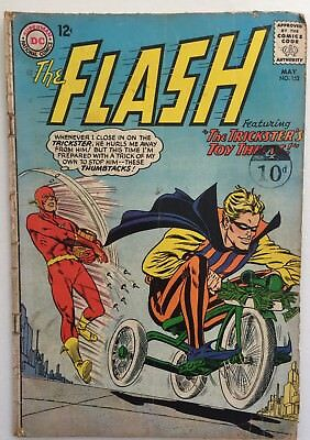 """Flash #152 """"The Trickster's Toy Thefts!"""" Grade 3.0. DC"""