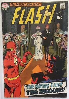 The Flash #194 The Bride Cast Two Shadows Grade 5.0