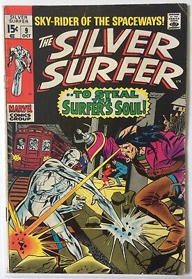 Silver Surfer #9 (Vol 1) Marvel (Oct 1969)  6.0