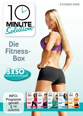 10 Minute Solution - 10 Minute Solution - Die Fitness Box, 5 DVDs