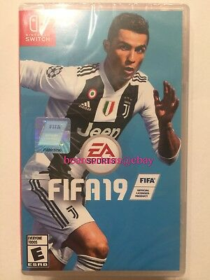 FIFA 19 2019 Switch Nintendo Standard Edition Brand New Sealed Fast Ship