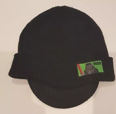 Schwarze Darth Vader Star Wars Lego thermo Strickmütze Beanie 128 152 Mütze Top