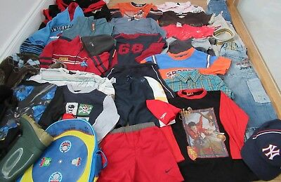 £230 boys bundle shorts  jeans NEXT t shirt hoodie pants age 3 - 4 - 5 years NEW