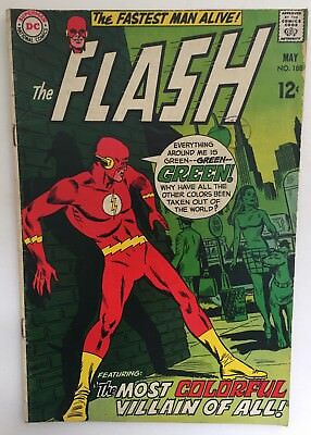 The Flash #188 - May 1969 - DC - VG Condition.