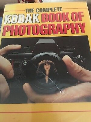 The Complete Kodak Book of Photography Camera Hardcover GC