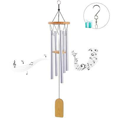 Wpky Beautiful Tune Wind Chime, Elegant Metal Design Musical Windchime With Swee
