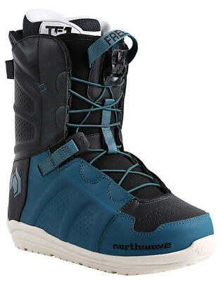 Northwave Freedom Speed Lace Snowboard Boots Colour Petrol sizes 10.5 or 12.5