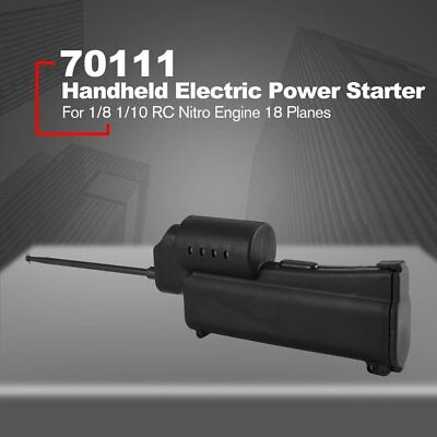 70111 Handheld Electric Power Starter for 1/8 1/10 RC Nitro Engine 18 Planes NS