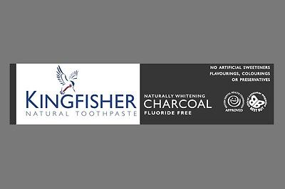 Kingfisher Charcoal Naturally Whitening Natural Toothpaste - 100ml